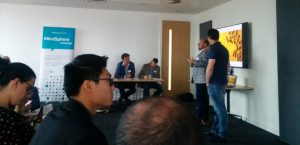 Rick Robinson of ARUP delivering the keynote presentation.
