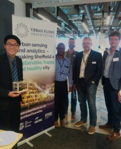 Yun Hang and his winning Prototype, alongside all of the competition judges.