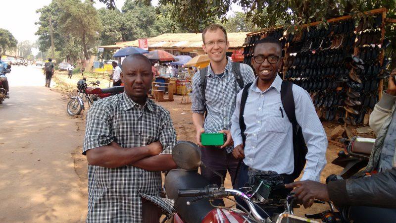 The Team in Kampala