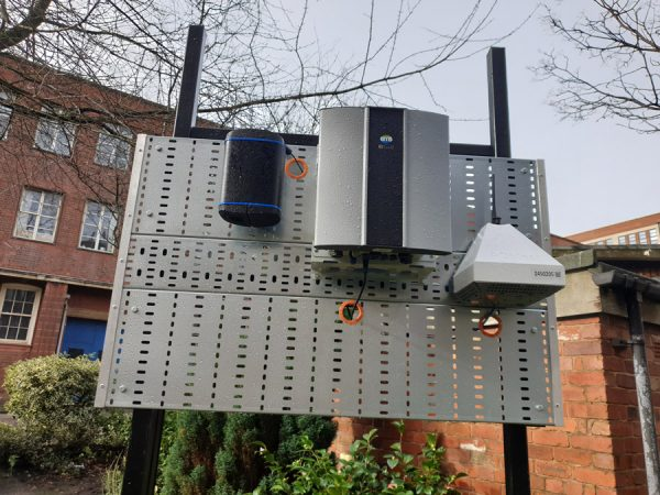 Air Quality Sensor Farm