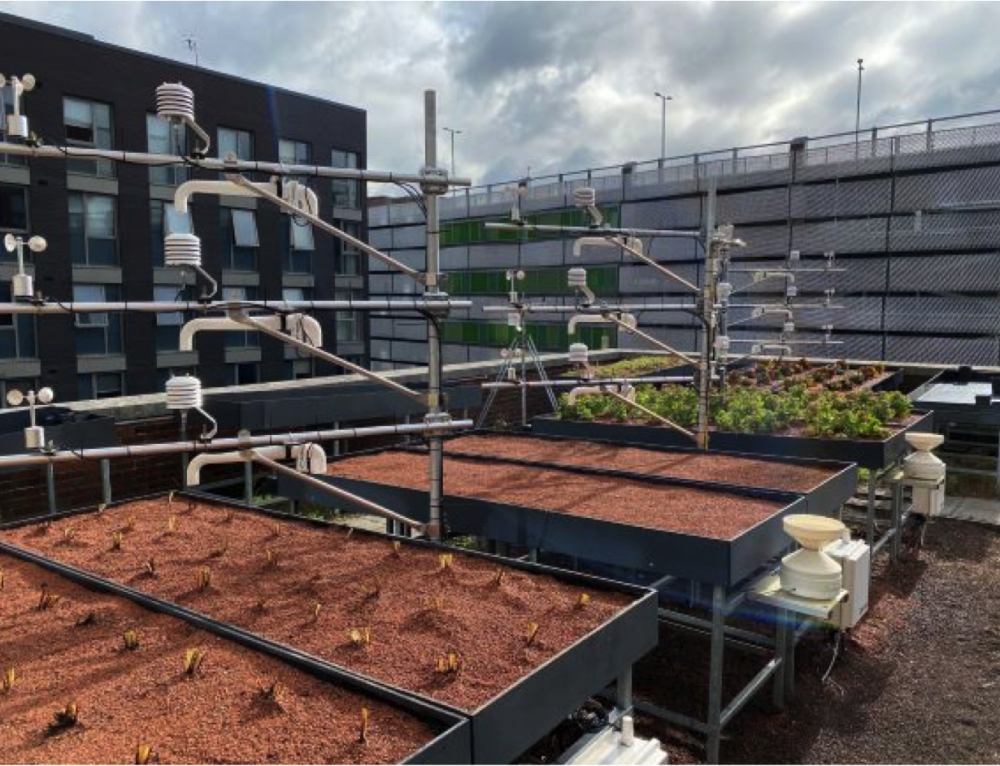 Monitoring Green Roofs to Estimate Evapotranspiration
